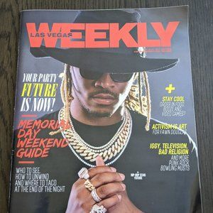 Other - Las Vegas Weekly May 2017 Future Lil Wayne J Cole